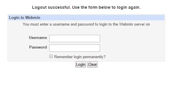 how to install webmin