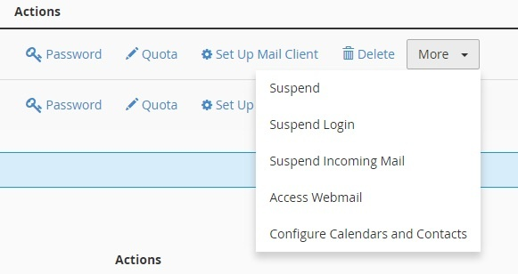 create email account in cpanel 5