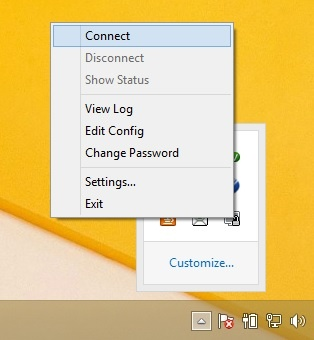 How to Connect an OpenVPN Client in Windows - Copahost