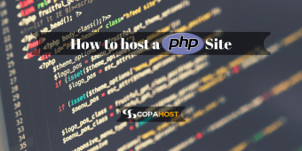 How to host a PHP Site?